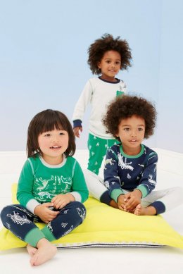 Три пижамных комплекта с динозаврами (9 мес. - 8 лет)