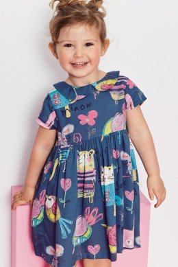 Платье с принтом (3 мес.-6 лет) Платье с принтом (3 мес.-6 лет)